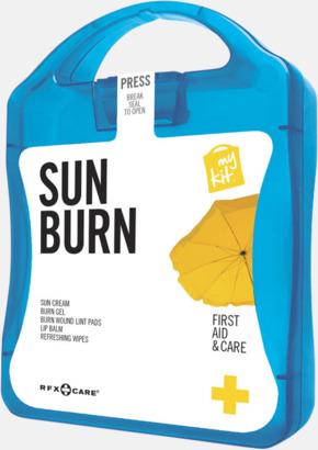 Blå Solskydds-kit med reklamtryck