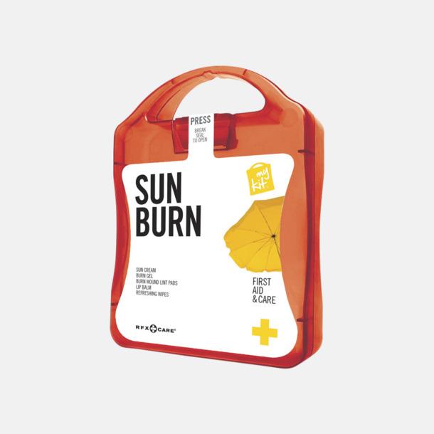 Röd Solskydds-kit med reklamtryck