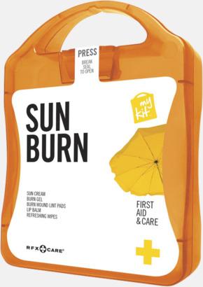 Orange Solskydds-kit med reklamtryck
