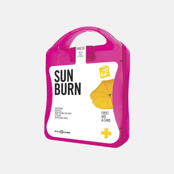 Magenta Solskydds-kit med reklamtryck