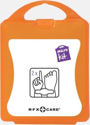 Orange Skoskavsplåster i ask med reklamtryck