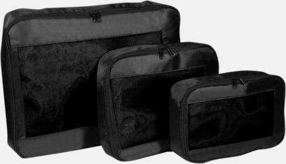 Fodral för bättre organiserad packning i resväskan - med reklamtryck