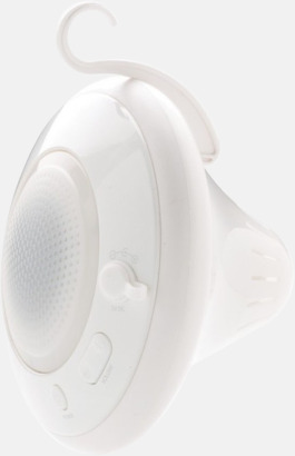 Vattentäta Bluetooth-högtalare med flytförmåga - med reklamtryck