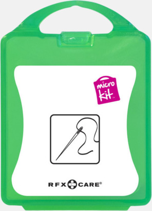 Grön Minisykit med reklamtryck