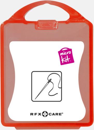 Röd Minisykit med reklamtryck