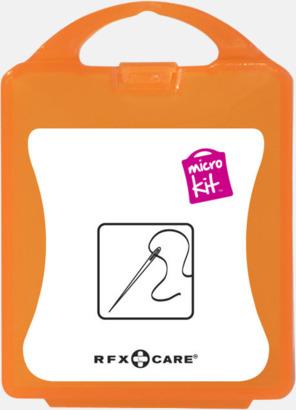 Orange Minisykit med reklamtryck