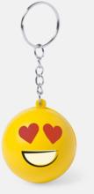 Emoji nyckelring stressboll