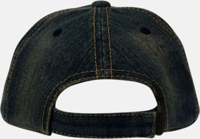 Jeanskepsar med reklambrodyr