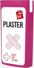 Kit med 10 plåster i förpackning med reklamtryck
