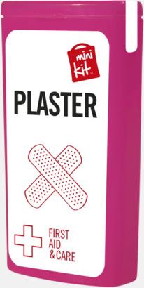 Magenta Kit med 10 plåster i förpackning med reklamtryck