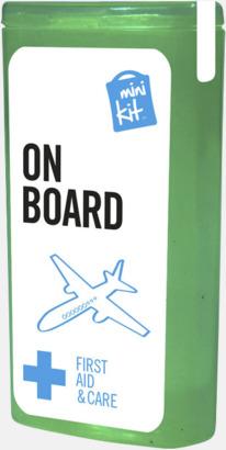Grön Mini resekit med reklamtryck
