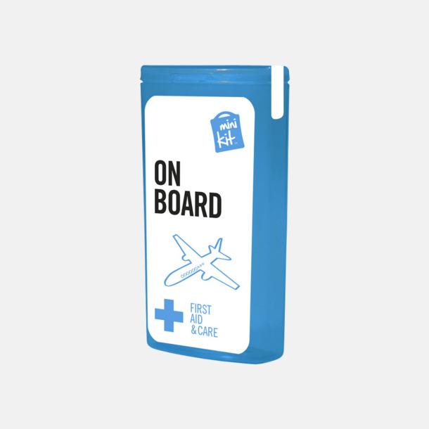 Blå Mini resekit med reklamtryck