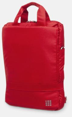 Röd Ryggsäck & axelväska från Moleskine med reklamtryck