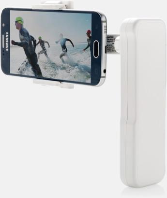 Vit Stabilisator för mobiltelefonen