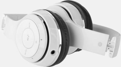 Vikbar Vikbara hörlurar med Bluetooth med reklamtryck