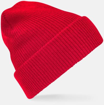 Classic Red Vintage-mössor med reklambrodyr