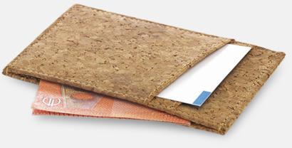 Eko kreditkortshållare med reklamtryck