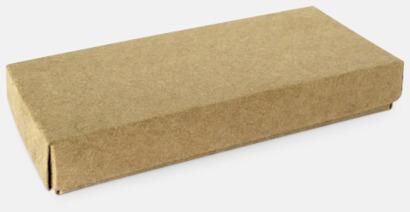 Förpackning Eko kreditkortshållare med reklamtryck