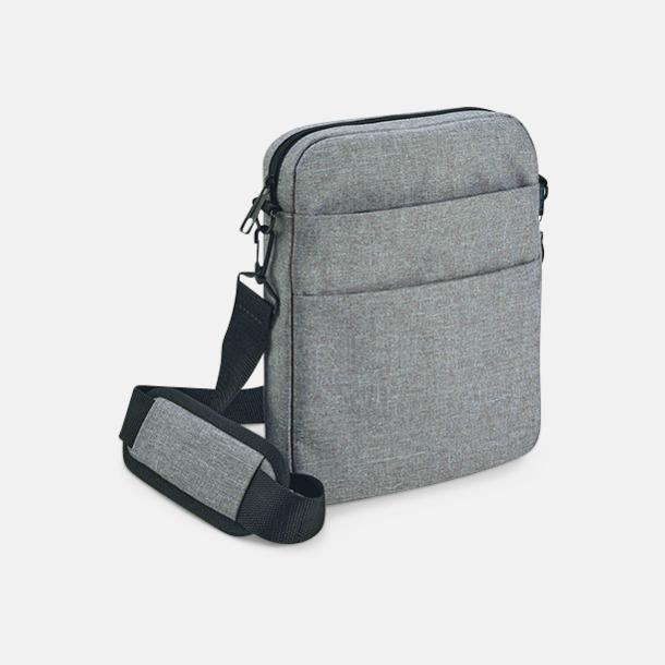Ljusgrå Melange tablet väska