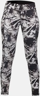 Svart/Print (dam) (3) Tvåsidiga leggings med reklamtryck