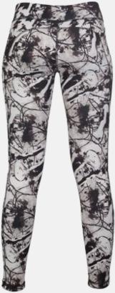 Svart/Print (dam) (4) Tvåsidiga leggings med reklamtryck