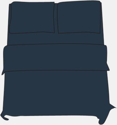 Mörkblå Örngott i 2 storlekar med reklamtryck
