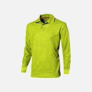 Långärmade pikétröjor från Slazenger med reklamtryck