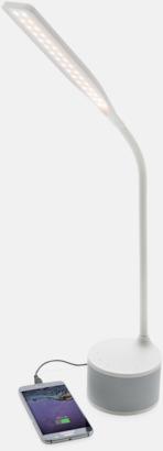 Lampa, högtalare & laddare med reklamtryck