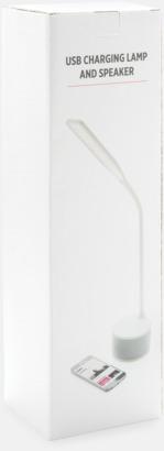 Presentförpackning Lampa, högtalare & laddare med reklamtryck