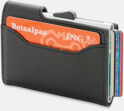 RFID-säkra korthållare med plånbok - med reklamtryck
