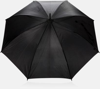 C-formade paraplyer med reklamtryck
