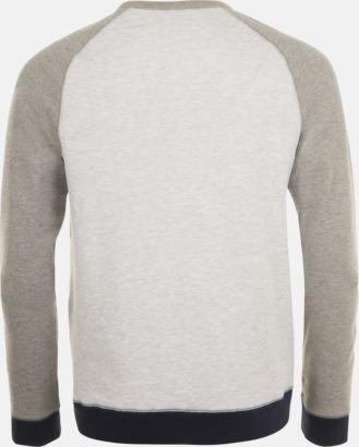 Unisextröjor i 3 färger med reklamtryck