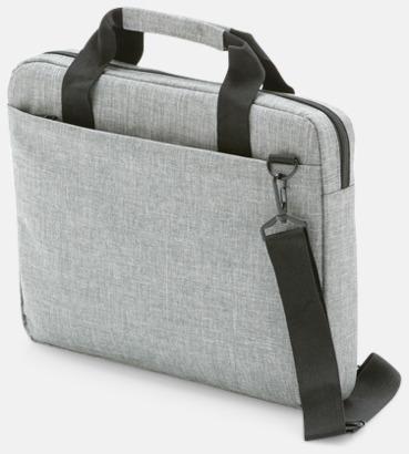 """Ljusgrå Melande laptop väska 14"""""""