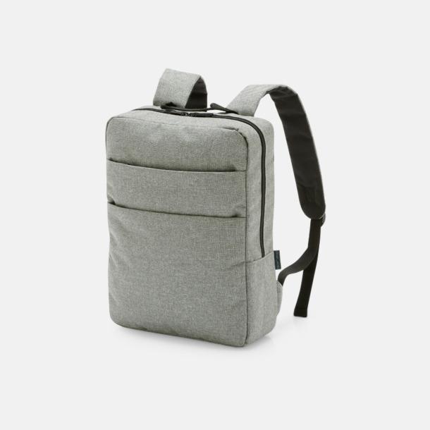 """Ljusgrå Gråmelerad laptopryggsäck 15,6"""""""