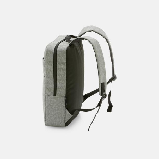 "Gråmelerad laptopryggsäck 15,6"""