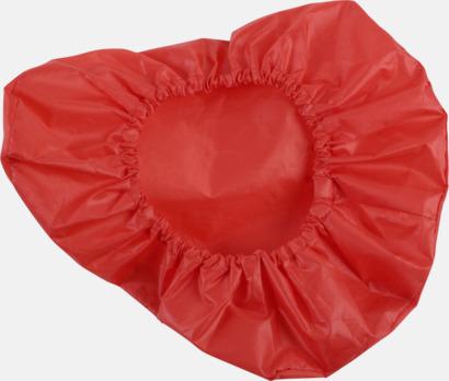 Röd Reflex Sadelskydd med reklamtryck