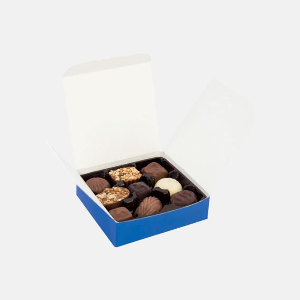 CMYK-tryck Chokladpraliner i ask med eget tryck