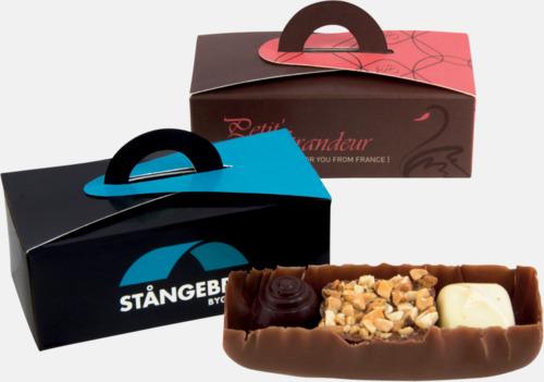 Chokladpraliner i ask med eget reklamtryck