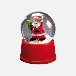 Julglober med reklamtryck