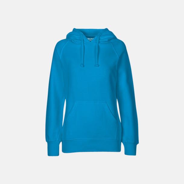 Sapphire (dam) Ekologiska huvtröjor för herr och dam med tryck