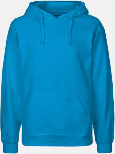 Sapphire (herr) Ekologiska huvtröjor för herr och dam med tryck