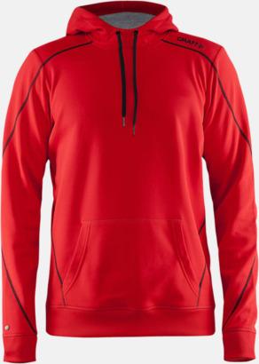 Bright Red (herr) Herr- och damtröjor från Craft av funktionsmaterial med reklamtryck