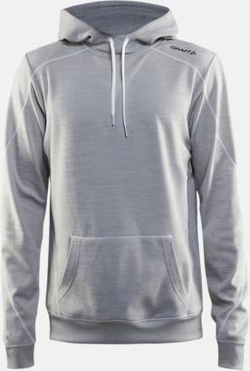 Grey Melange 3950 (herr) Herr- och damtröjor från Craft av funktionsmaterial med reklamtryck