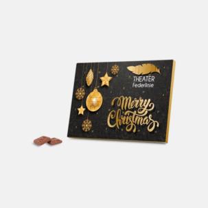 Adventskalender med Fairtrade-choklad med reklamtryck