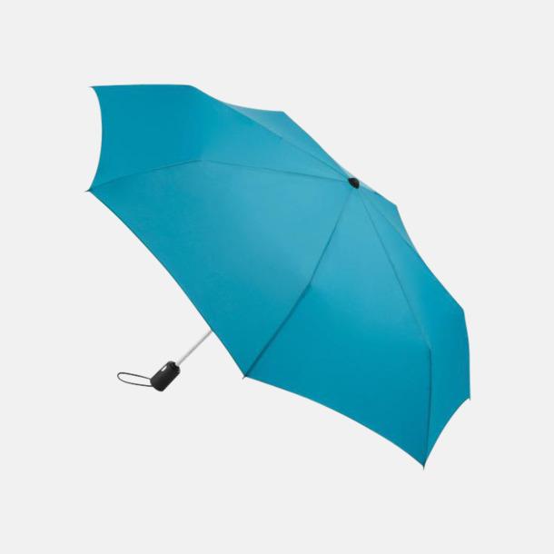 Petrol Basildon kompakt - små paraplyer med reklamtryck
