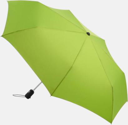 Limegrön Basildon Kompakt - Paraplyer Med tryck