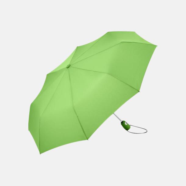 Ljugrön Kompakta paraplyer med eget reklamtryck