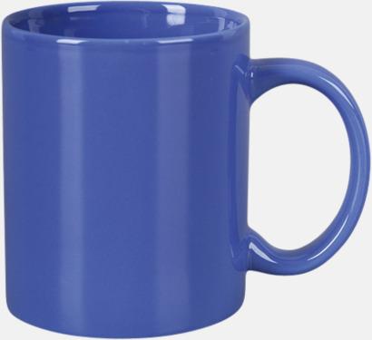 Blå Basmugg 300 ml - med tryck