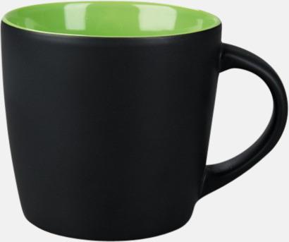 Matt Ljus grön Muggar med eget tryck