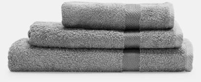 Grå Handdukar i flera storlekar & färger